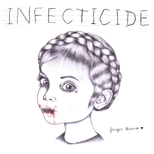 Cover Infecticide - La Voiture de la Police